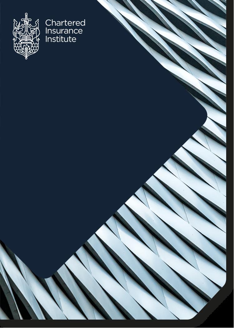 Certificate in London Market Insurance
