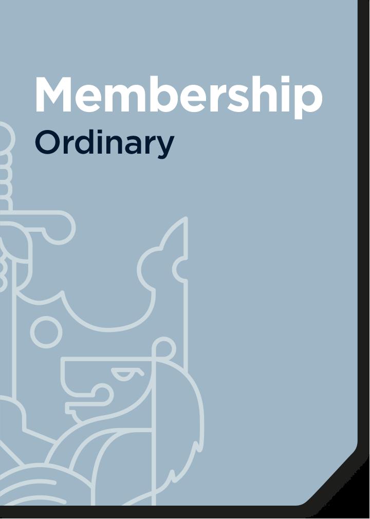 Ordinary membership